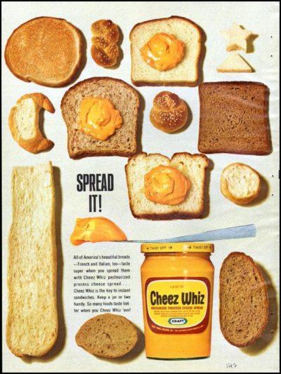 1965 cheese wiz ad