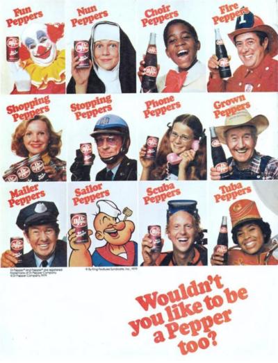 Dr Pepper print ad