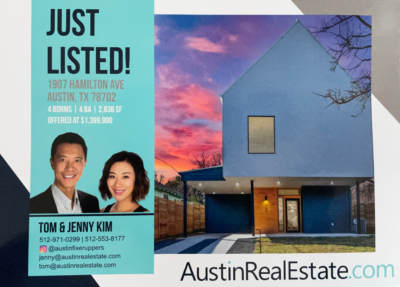 austin real estate direct mail front